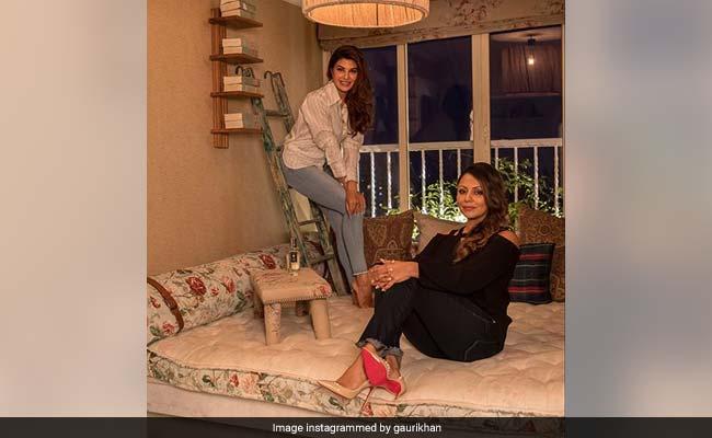 Inside Jacqueline Fernandez's Apartment, Designed By Gauri Khan