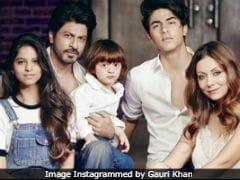 Shah Rukh Khan's '3 Beautiful Children, Lovely Wife' Tweet Is Winning The Internet