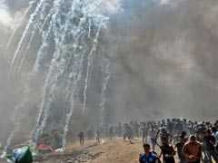 Palestinian Baby Dies From Tear Gas Inhalation At Gaza Border Protest