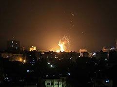 Israeli Planes Hit 25 Targets In Response To Gaza Rocket Fire: Army