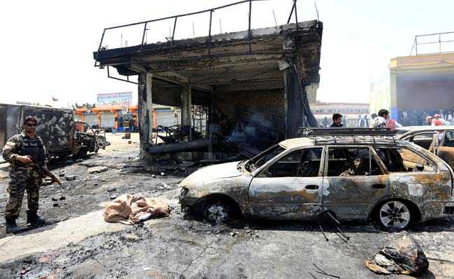 12 Killed In Suicide Attack On Afghan Security Forces: Officials