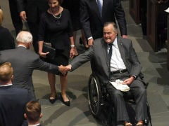 Former US President George HW Bush Released From Hospital