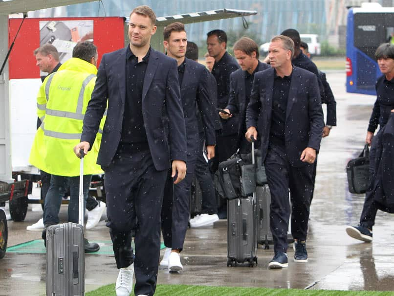 FIFA World Cup: Defending Champions Germany Arrive In Russia For World Cup