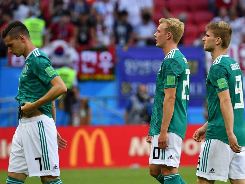 Germany gets knocked out, Mexico advances