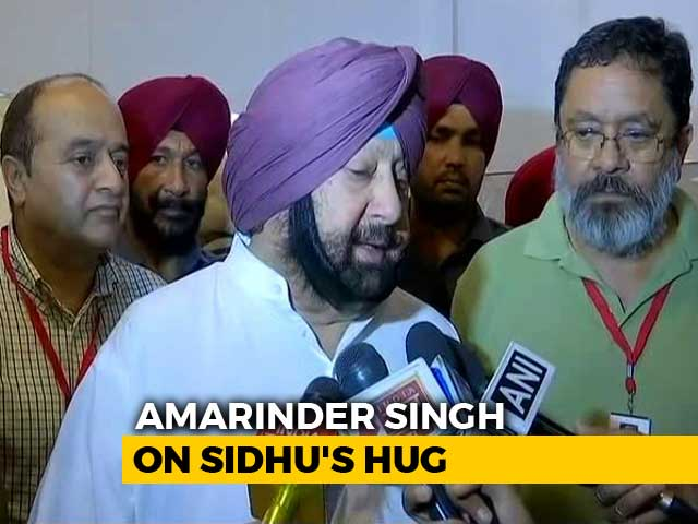 """Video : """"Every Day, Our Jawans Shot"""": Amarinder Singh Lashes Out At Navjot Sidhu"""