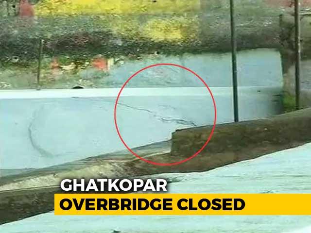 Video : Cracks In Mumbai Bridge, Third In A Week, As Heavy Rain Batters City
