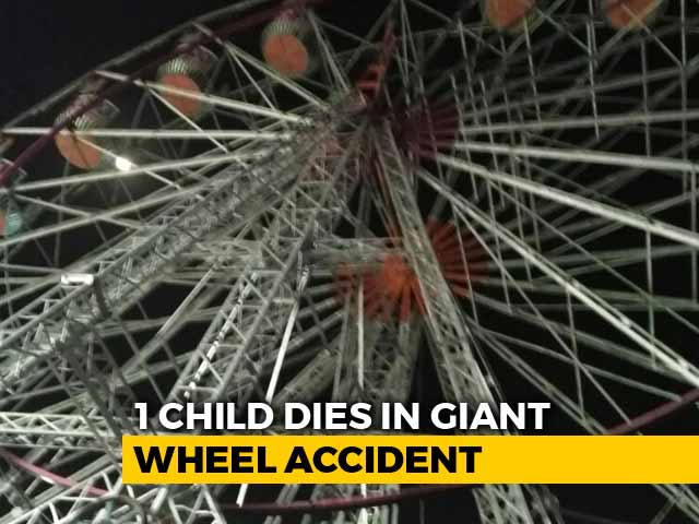 Video : 10-Year-Old Killed, 6 Injured In Giant Wheel Crash At Andhra Pradesh Fair