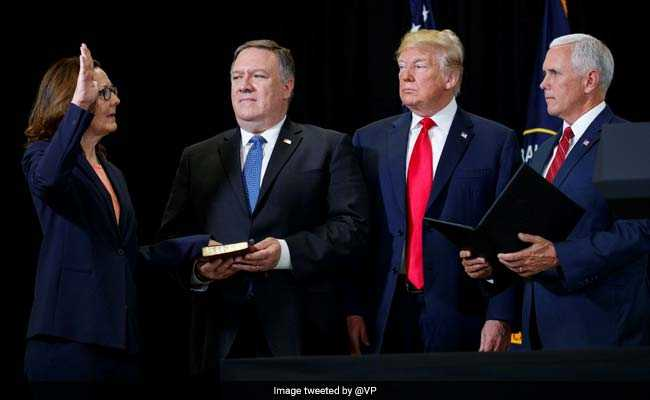 Gina Haspel Sworn In As First Woman CIA Director Despite Torture Claims