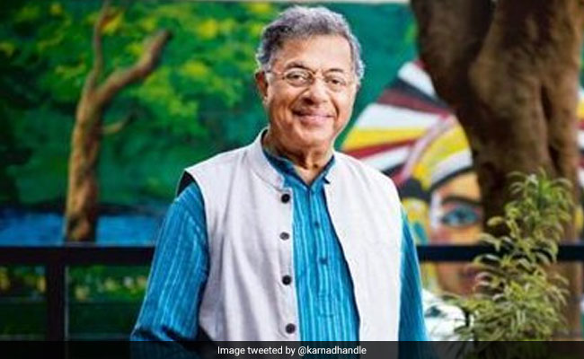 Girish Karnad Was On The Hit List Of Gauri Lankesh Murder Suspects: Probe Team