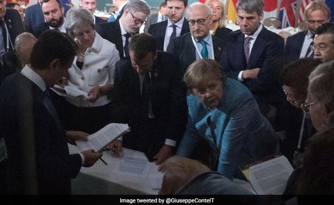 giuseppe conte pov g7 summit twitter