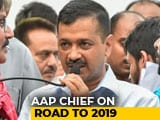 Video : Will Not Join Opposition Alliance For Lok Sabha Polls: Arvind Kejriwal