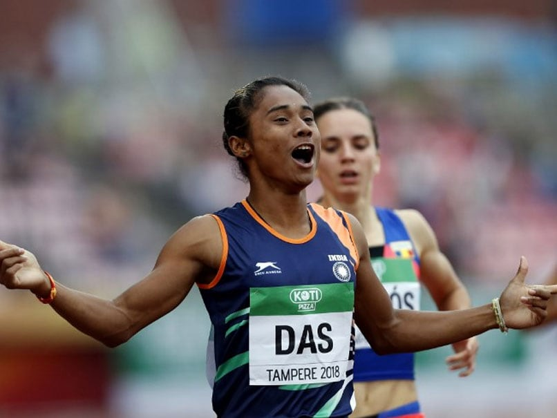 Watch Hima Das Win Indias First-Ever World-Level Track Gold Medal