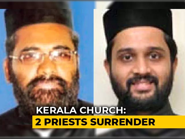 Video : 2 Kerala Priests Accused Of Raping, Blackmailing Woman Surrender In Court