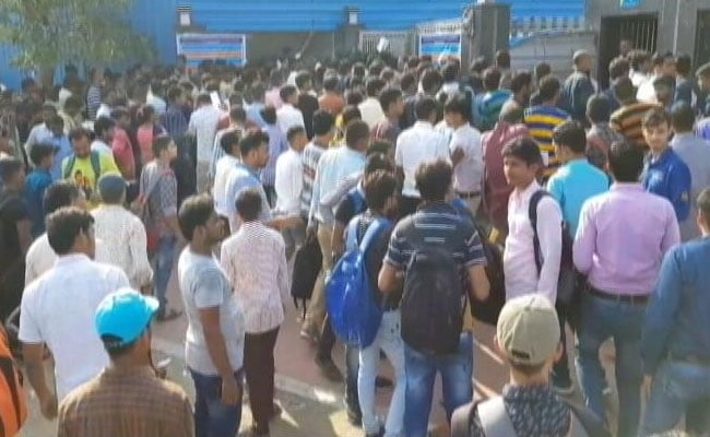 Record 4 Lakh Give Exam On Day 1, As 5 Million Apply For Railway Jobs
