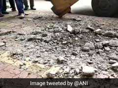 Thane's Rajiv Gandhi Flyover Develops Cracks, Closed To Traffic