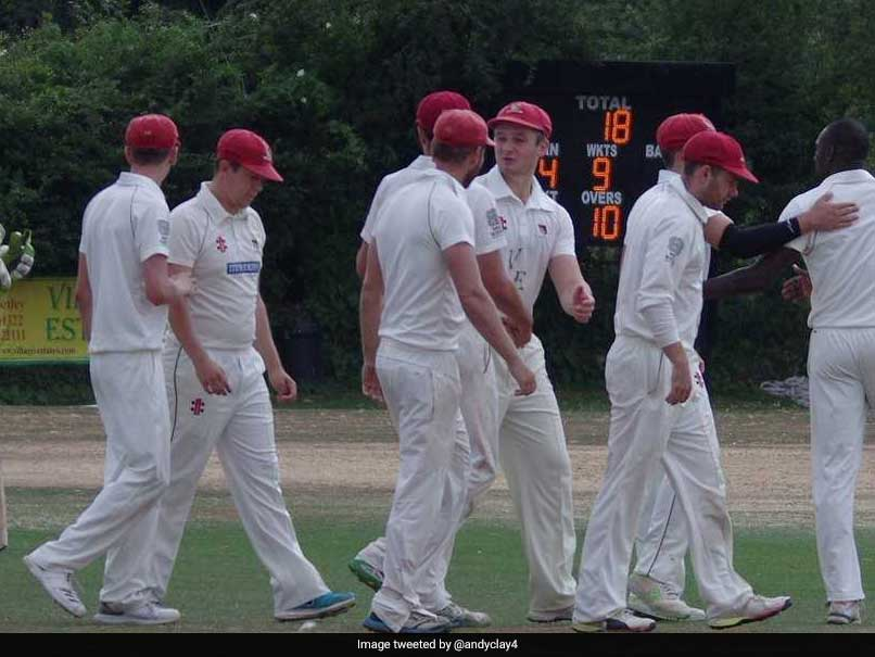 English Cricket Club Suffers Humiliating Collapse, Target Chased Down In 12 Minutes