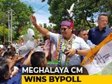 Video : Meghalaya Chief Minister Conrad Sangma Wins Bypolls By Over 8,000 Votes