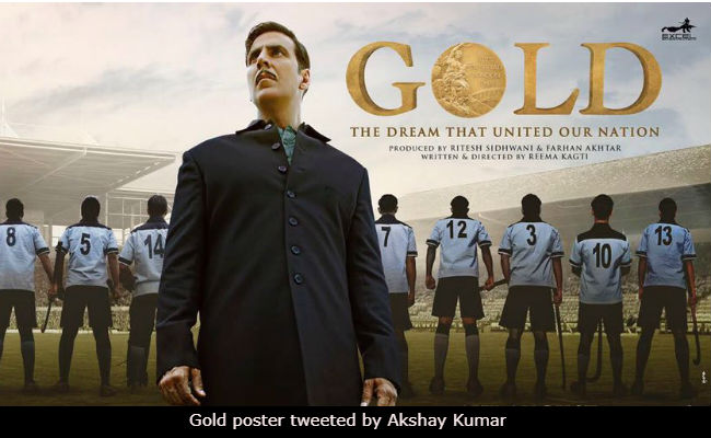 With Gold's New Poster, Akshay Kumar Reveals When The Trailer Will Release