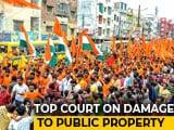 "Video : ""This Must Stop,"" Says Top Court As Centre Raises Kanwariya Rampage"