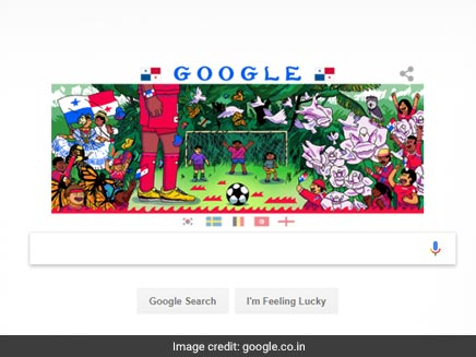 Google Doodle Celebrates FIFA World Cup, Day 5: Belgium, England Make First Appearance