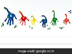 To Celebrate Father's Day, Google Doodle Splashes Colour And Symbolism