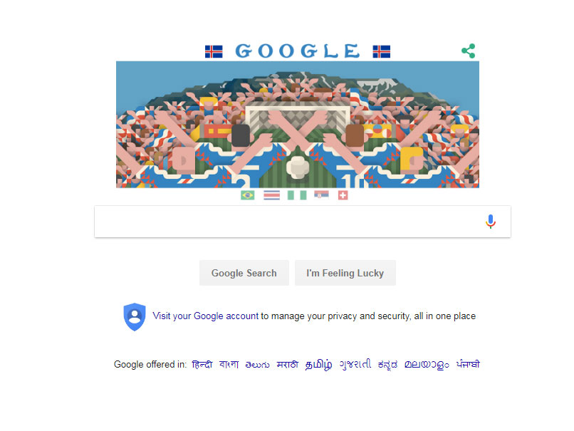 FIFA World Cup 2018, Day 9: Google Doodle Celebrates The High-Octane Brazil-Costa Rica Clash