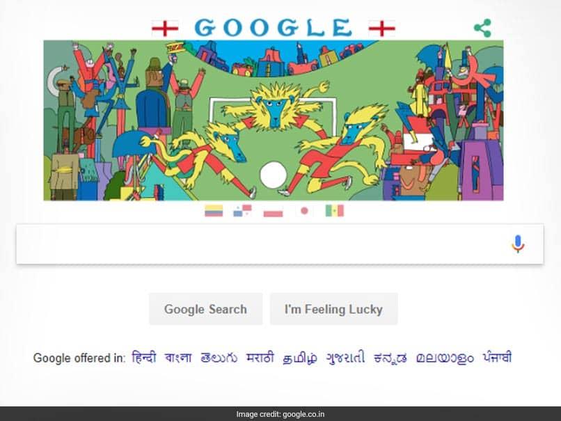 World Cup 2018, Day 11: Google Doodle Celebrates Football Culture In Harry Kanes England, Robert Lewandowskis Poland