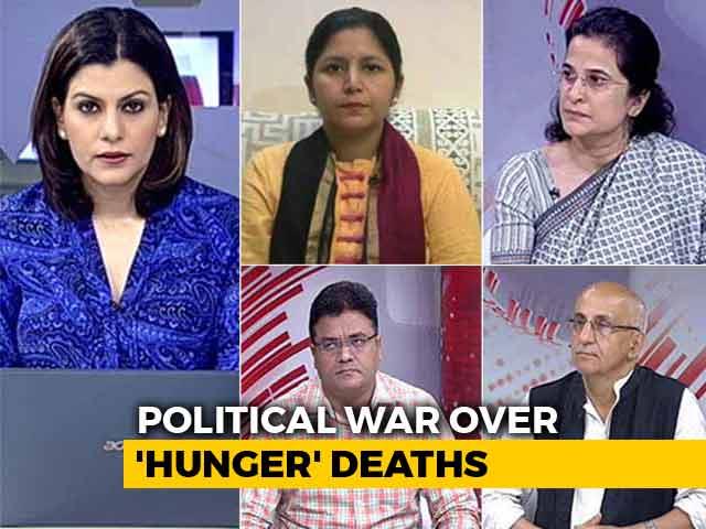 Video : Delhi's Starvation Horror Sparks Political War