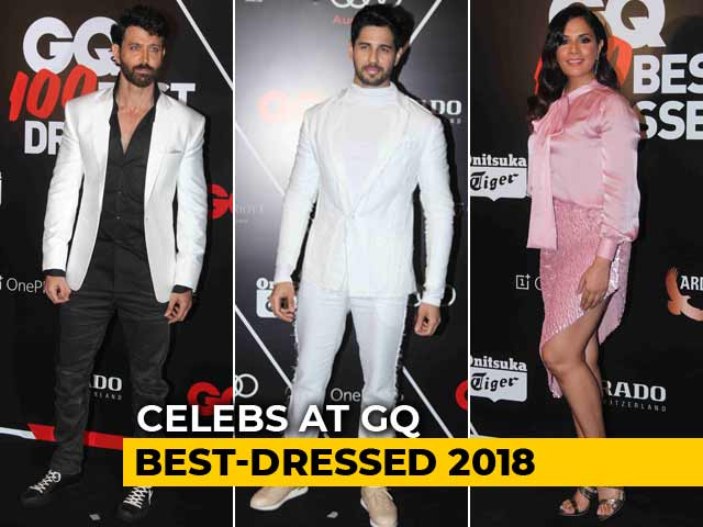 GQ Best-Dressed 2018: Hrithik Roshan, Richa Chadha & Others