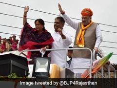 Vasundhara Raje's Campaign <i>Rath</i> Is Luxury Bus With Elevator, Sun Roof