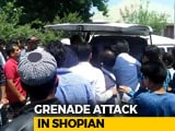 Video : 10, Including 2 Cops, Injured In Grenade Attack In Kashmir's Shopian