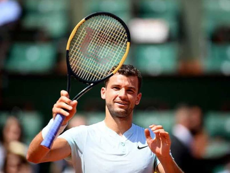 French Open 2018: Grigor Dimitrov Downs Mystery Man At Roland Garros; Venus Williams, Nick Kyrgios Out