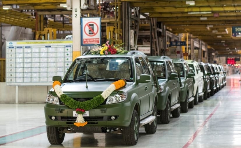 The 1500th GS800 Safari Storme was rolled out of the company's manufacturing plant in Pune, Maharashtra