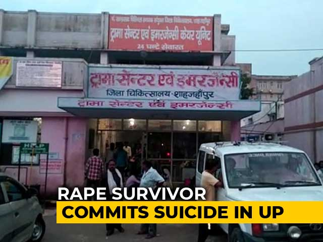 Video : Rape Survivor Sets Herself, Son On Fire; UP Cops Allegedly Refused To Act