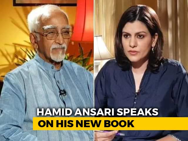 "Video : ""Danger Of India Becoming An Illiberal Democracy"" Says Hamid Ansari"