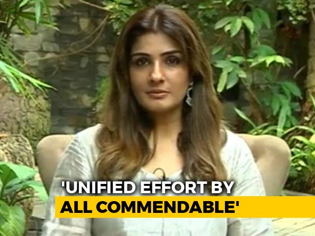 Video: Initiatives To Help Kerala Have Come Out Of People's Homes: Raveena Tandon