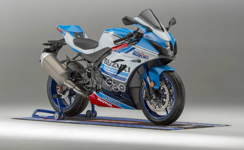The race replica Suzuki GSX-R1000R is a one-off model