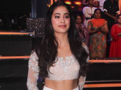 Janhvi Kapoor Shows Us How To Dazzle Like A Star In Sparkly White