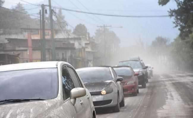 guatemala volcano ash afp