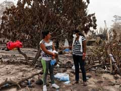 In Guatemala, Woman Searches For 50 Relatives Buried By Volcanic Eruption