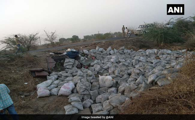 19 Killed After Cement-Laden Truck Overturns On Highway In Gujarat