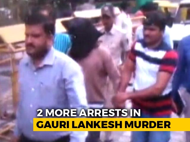 Video : Goldsmith, Incense-Stick Maker Arrested In Gauri Lankesh Murder Case