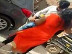 गुरुग्राम: मामूली कहासुनी के बाद दबंग लेडी ने ऑटोवाले को मारी गोली