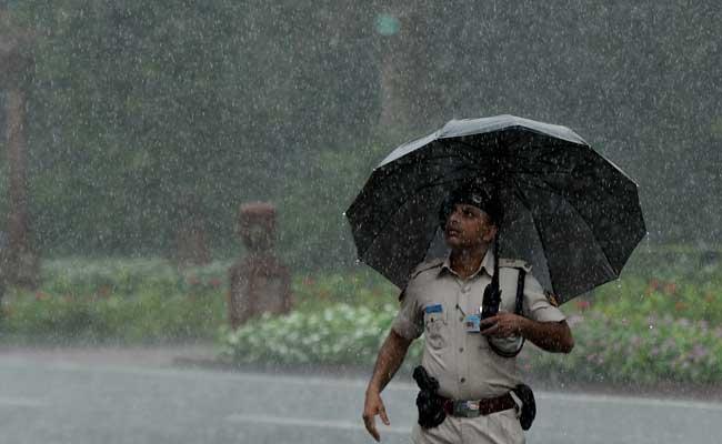 Heavy Rain Hits Delhi On Sunday Morning, Humidity Touches 94 Per Cent