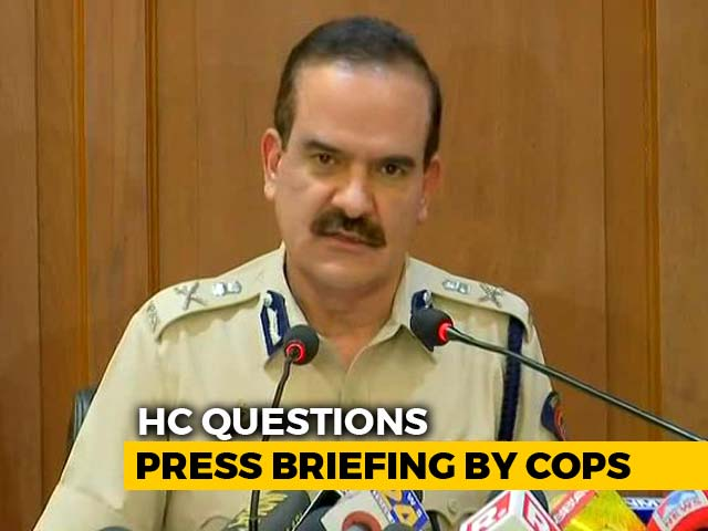 Video : On Activists' Arrests, High Court Questions Press Conference By Police