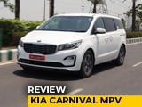 Kia Carnival MPV Review