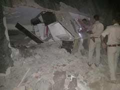 Under-Construction Building Falls On Another Near Delhi, Many Trapped