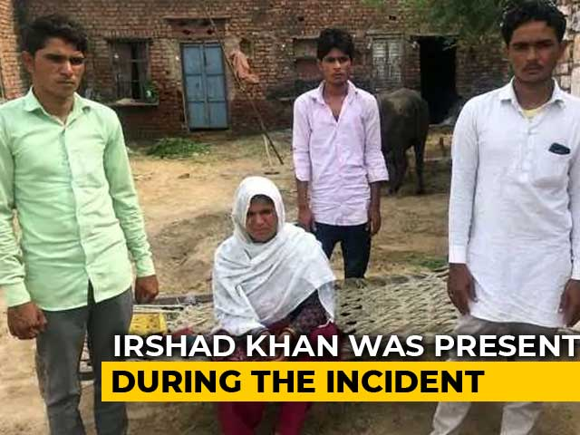 "Video : ""Recognise Him, He Beat Us"": Pehlu Khan's Son On Accused In NDTV Expose"