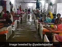 "Bihar Hospital Turns ""Aquarium"" After Rains, Fish Seen Swimming In ICU"