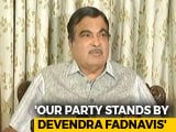 Video : No Talk Of Replacing Devendra Fadnavis, Says Nitin Gadkari On Maratha Row